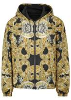 Versace Baroque-print Shell Jacket