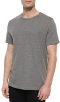 Rag & Bone Standard Issue Basic Crewneck T-Shirt, Charcoal