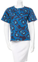 Peter Som Floral Print T-Shirt