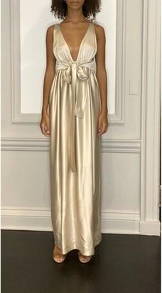Cyntje Ilea Sleeveless Silk Maxi Dress