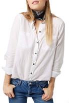 Topshop &Billie& Chambray Shirt