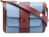 Marni Trunk striped satchel - women - Calf Leather - One Size