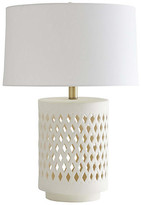 Arteriors Ray Booth For Treilliage Table Lamp - Matte Ivory - Ray Booth for