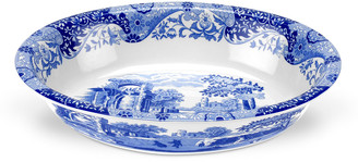 Spode Blue Italian Oval Rim Dish