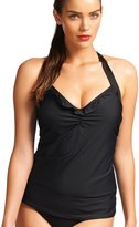 "Freya In The Mix"""" 50's Halter Underwire Tankini"