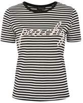 Topshop 'peachy' motif t-shirt