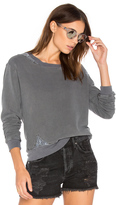 Stateside French Terry Sweatshirt with Lace
