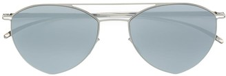 Mykita double bridged aviator sunglasses