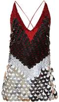 Altuzarra Greer sequinned sleeveless top