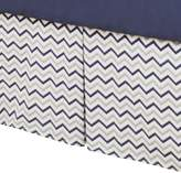 American Baby Company 100% Cotton Tailored Crib Skirt with Pleat