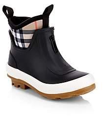 Burberry Kid's Flinton Rubber Boots