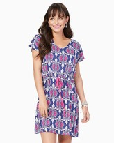 Charming charlie Summer Scrolls Print Dress