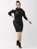 ABS by Allen Schwartz Metallic bodycon dress