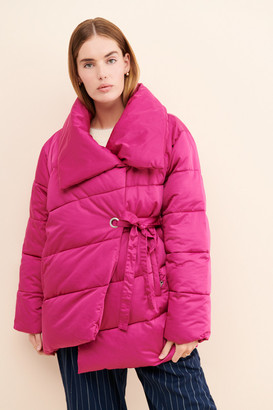AVEC LES FILLES Wrapped Up Puffer Jacket