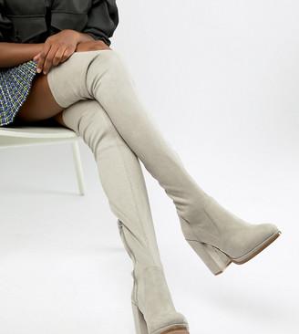 Asos Design DESIGN Kassidy heeled thigh high boots