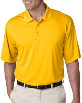 UltraClub Men's Wicking Performance Interlock Polo Shirt, XXX Large