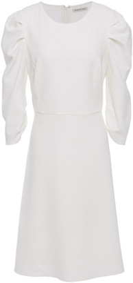 Halston Ruched Ponte Dress