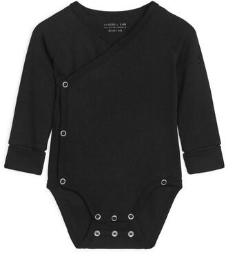 Arket Cotton Lyocell Wrap Bodysuit