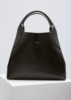 Lanvin Black Medium Lambskin Tote Bag