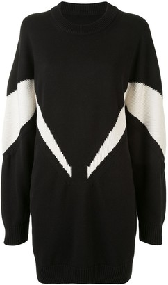 MM6 MAISON MARGIELA Intarsia Sweater Dress
