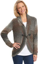 Woolrich Women's Roundtrip Boucle Sweater - Charcoal Space Dye Sweaters