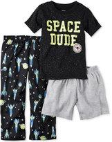 Carter's 3-Pc. Space Dude Pajama Set, Little Boys (2-7) & Big Boys (8-20)