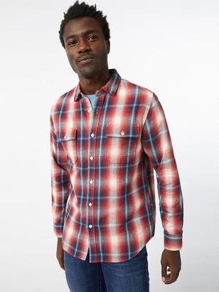 Frame Plaid Double Pocket Shirt