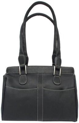 Piel Leather DOUBLE HANDLE HANDBAG
