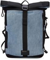 Diesel Blue D-running Roll Backpack
