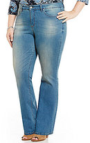Code Bleu Plus Soho Bootcut Jeans
