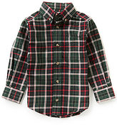 Class Club Little Boys 2T-7 Button-Front Plaid Shirt