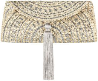 Flora Bella Navagio Hand-Woven Beach Clutch Bag
