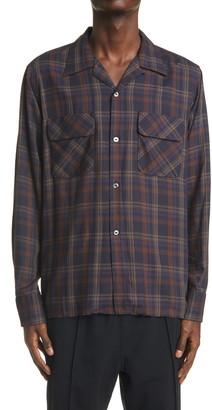 Needles C.O.B. Classic Plaid Shirt
