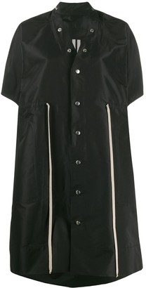 Rick Owens oversized drawstring jacket