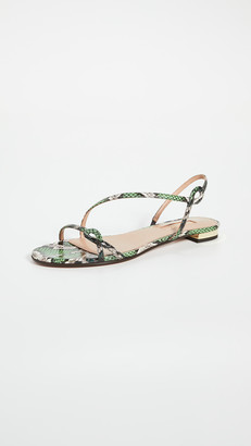 Aquazzura Serpentine Sandal Flats