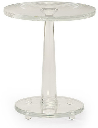 Caracole Demetra Glass Side Table