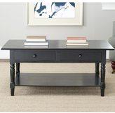 Safavieh Cape Cod Black 2-drawer Coffee Table