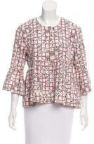 Piamita Floral Silk Blouse