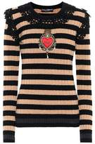 Dolce & Gabbana Wool and cashmere embellished sweater
