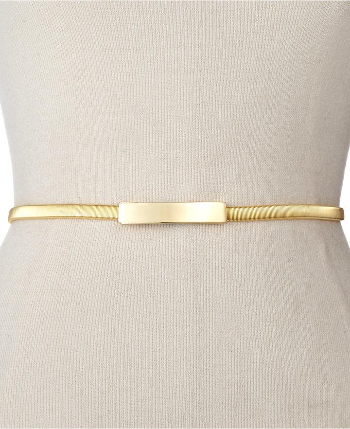 Style&Co. Belt, Cobra Stretch Chain