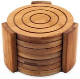Berghoff Bamboo 7-Piece Coaster Set