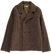 Babe & Tess Wool Reefer Jacket