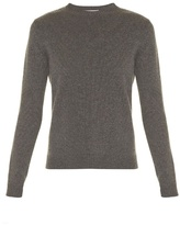 Valentino Rockstud Untitled #7 crew-neck cashmere sweater