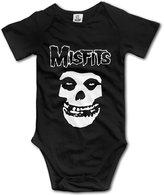 Dorb_Zell Misfits Band Logo Unisex Baby Onesies