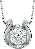 Sirena CT. Diamond Solitaire Pendant Necklace