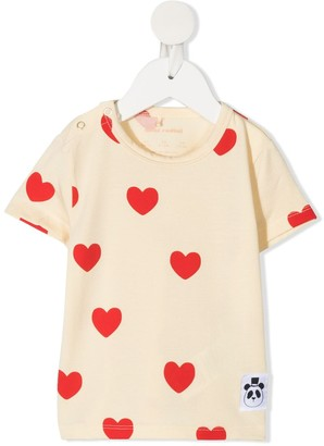 Mini Rodini Hearts tencel T-shirt