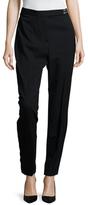 Lanvin Wool Waist Embellished Skinny Pant