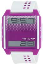 Vestal Unisex DIG021 Digichord Ultra Thin White and Purple Watch