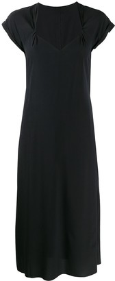 Rag & Bone Sweetheart Neck Midi Dress