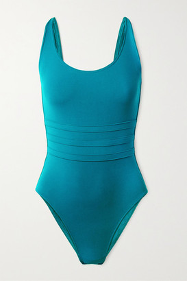 Eres Les Essentiels Asia Paneled Swimsuit - Teal